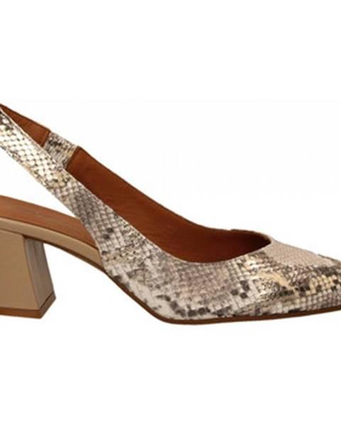 Hnedé topánky Andrea Zali