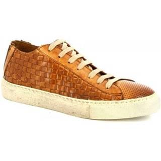 Nízke tenisky Leonardo Shoes  ART. MARCO MONT FOR/MONT/INTR8 CUOIO