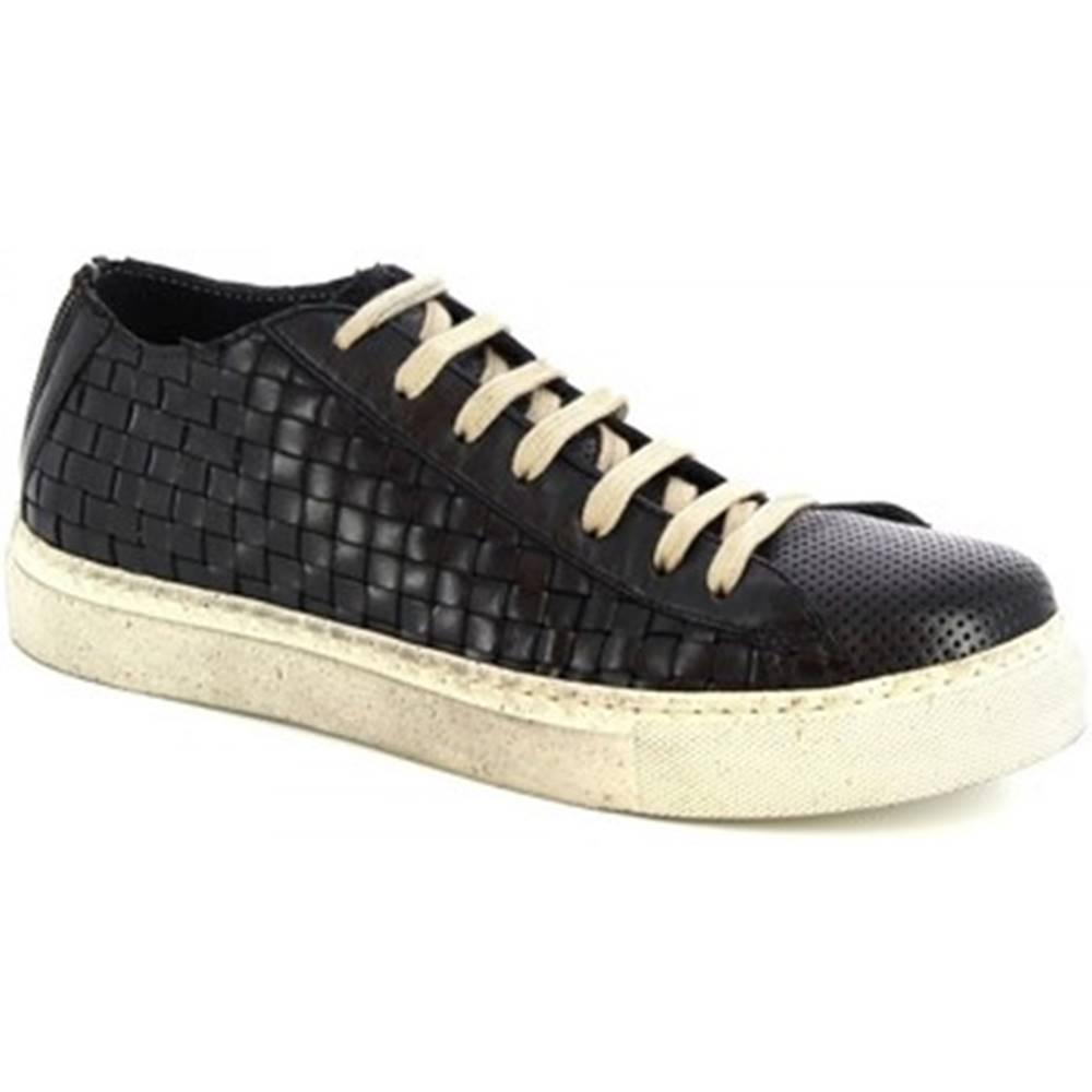 Leonardo Shoes Nízke tenisky Leonardo Shoes  ART. MARCO MONT FOR/MONT/INTR8 NERO
