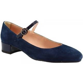 Lodičky Leonardo Shoes  2359 3C BLU
