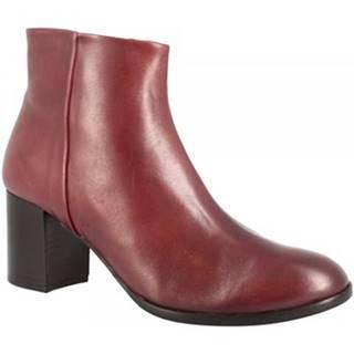 Čižmičky Leonardo Shoes  V340 WINE