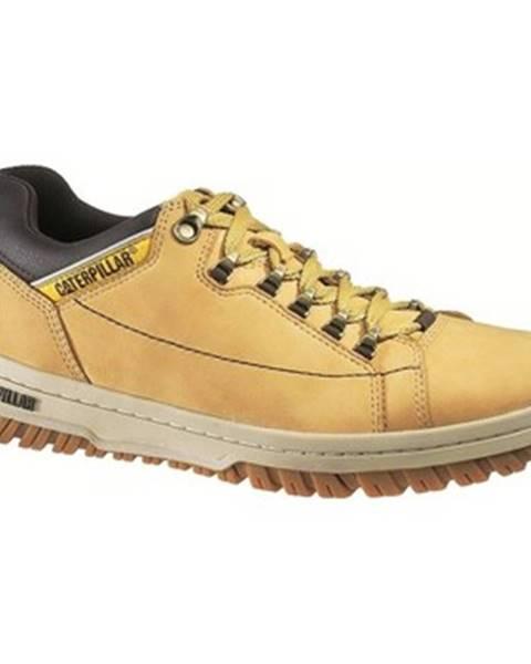 Žlté topánky Caterpillar