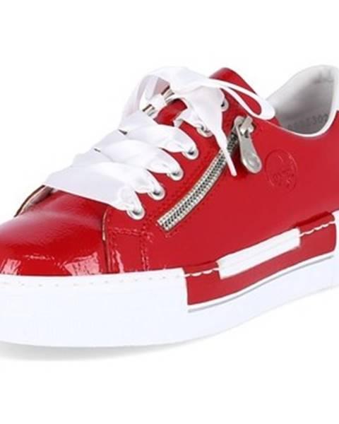 Červené tenisky Rieker