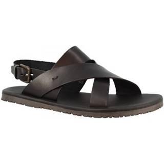 Sandále Leonardo Shoes  M6938 NERO