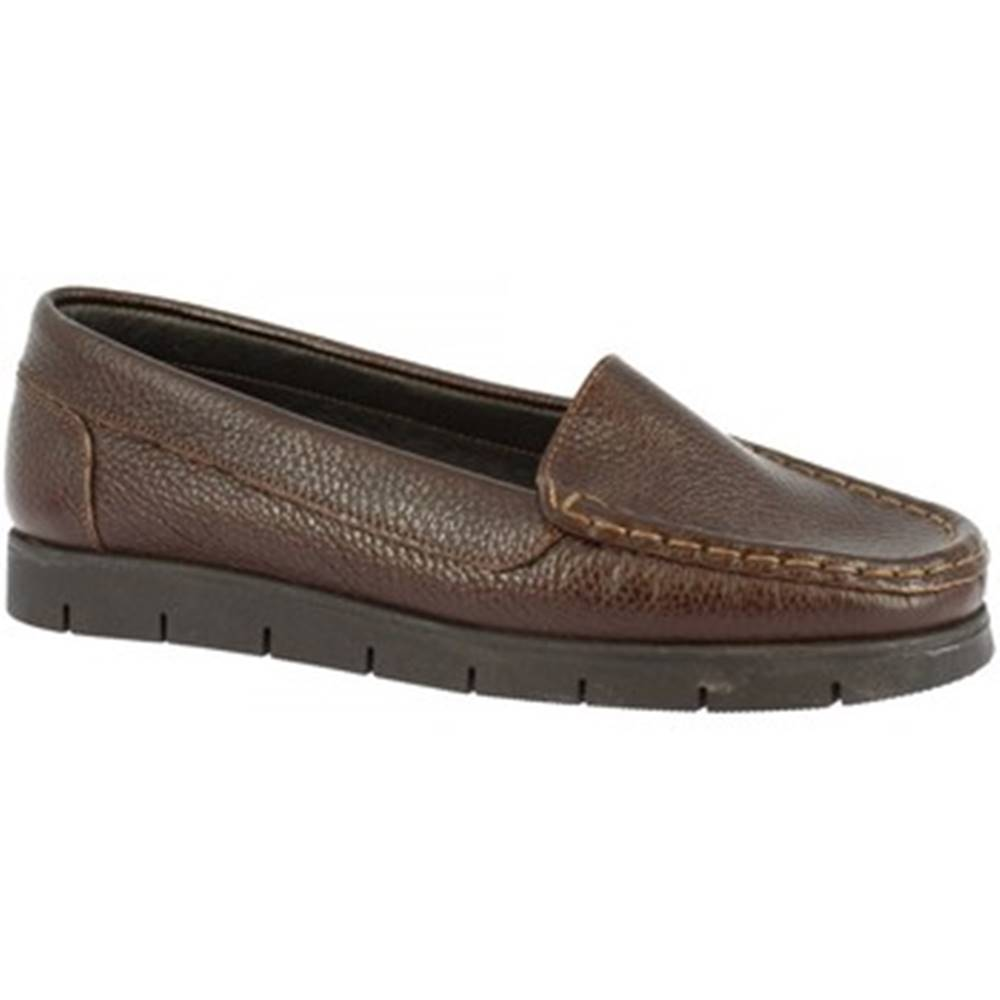 Leonardo Shoes Mokasíny Leonardo Shoes  2838 VITELLO T. MORO