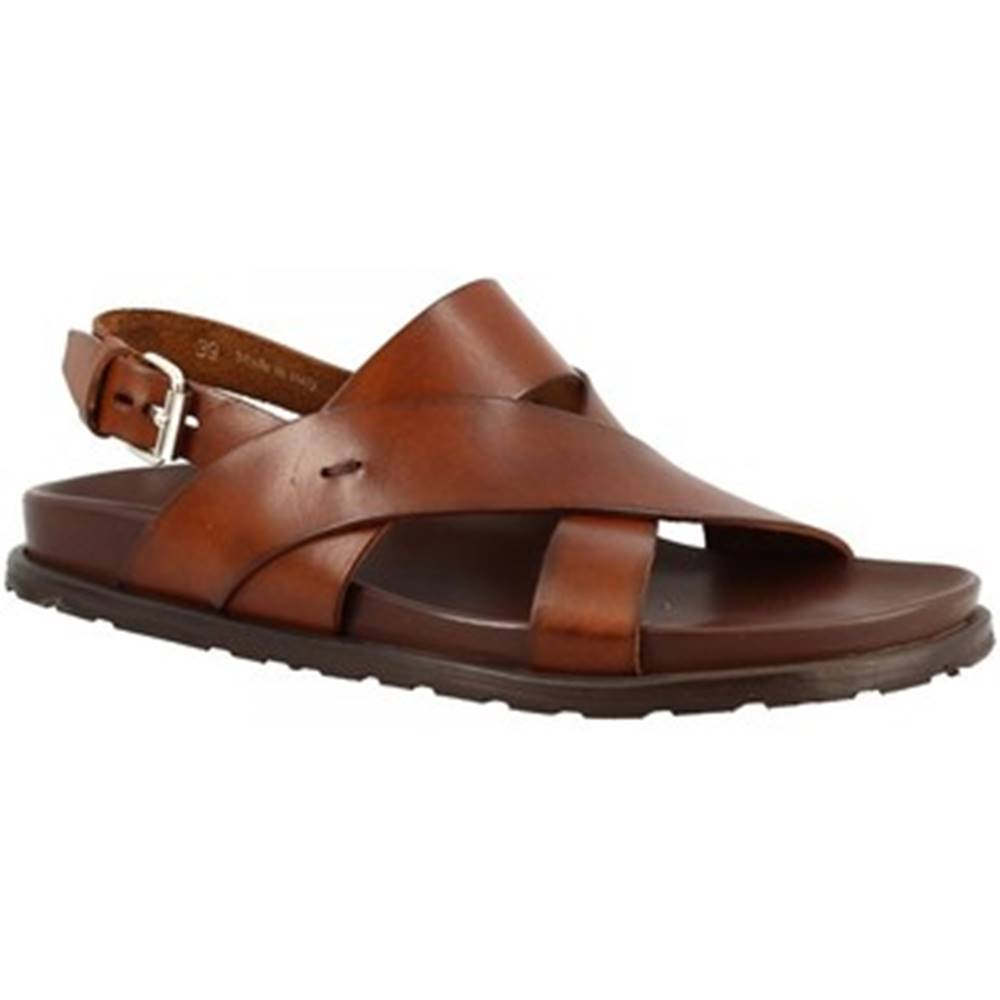 Leonardo Shoes Sandále Leonardo Shoes  M6938 MARRONE