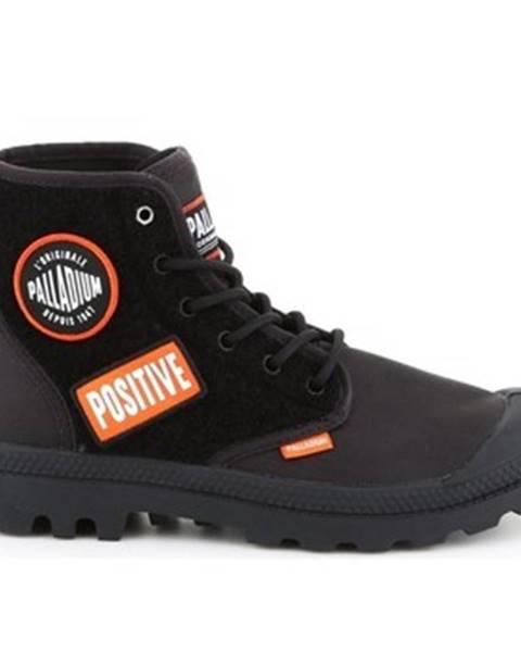 Čierne topánky Palladium