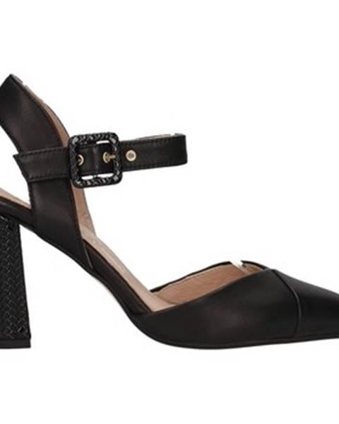 Čierne topánky Paola Ferri