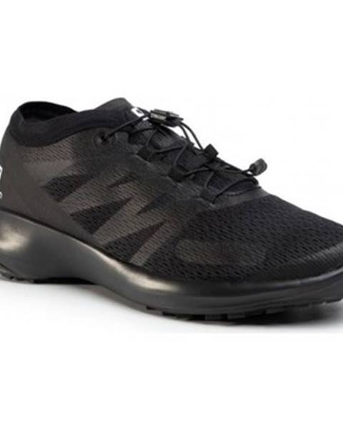 Čierne topánky Salomon
