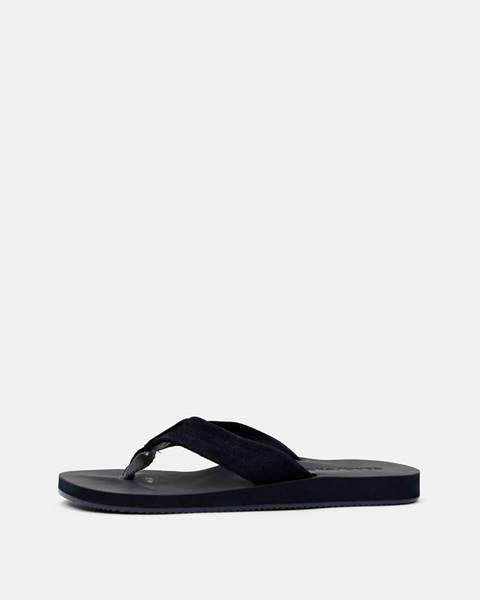 Tmavomodré sandále Jack & Jones
