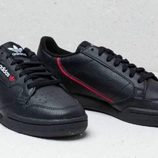 adidas Continental 80 Core Black/ Scarlet/ Collegiate Navy