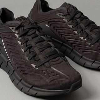 Reebok Zig Kinetica Black/ Black/ True Grey 7