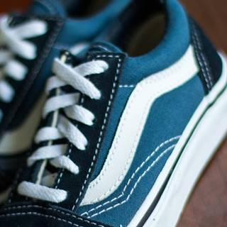 Vans Kids Old Skool Navy/ True White