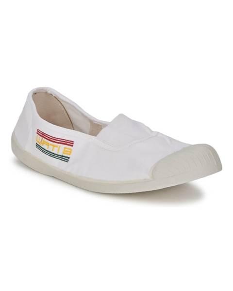 Biele balerínky Wati B
