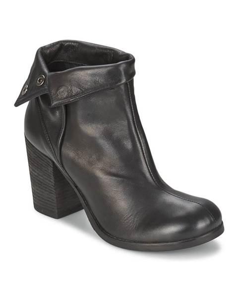 Čierne topánky JFK