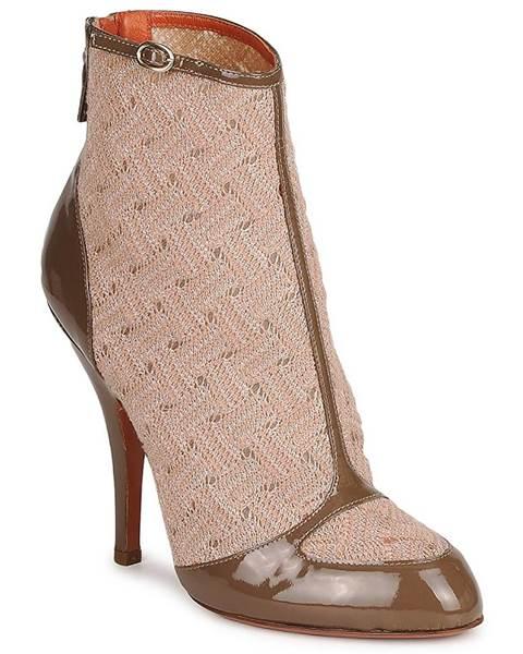 Béžové topánky Missoni