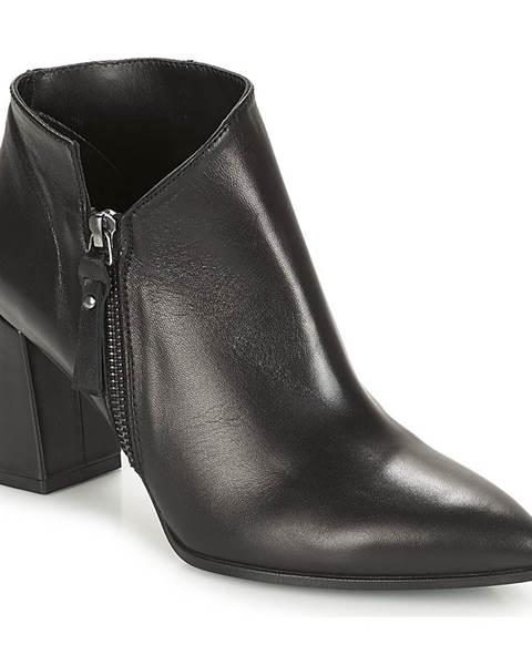 Čierne topánky Paco Gil