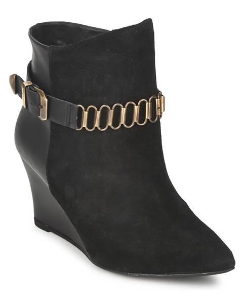 Čierne topánky Pastelle