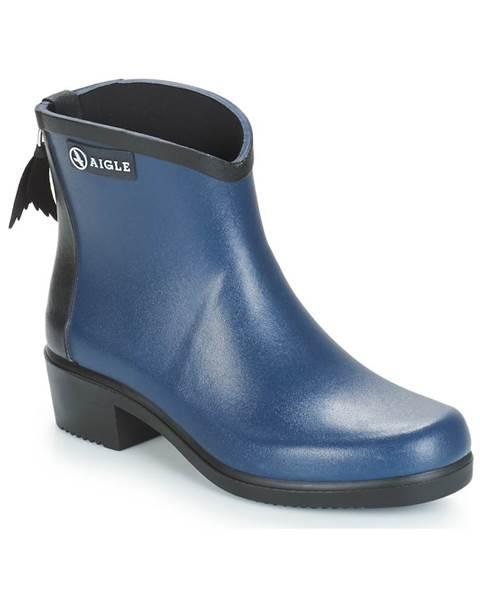 Modré čižmy Aigle