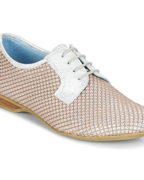 Strieborné topánky Dorking