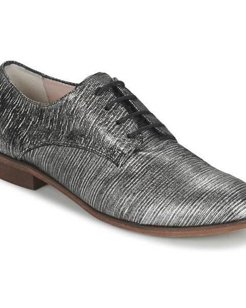 Strieborné topánky Tosca Blu