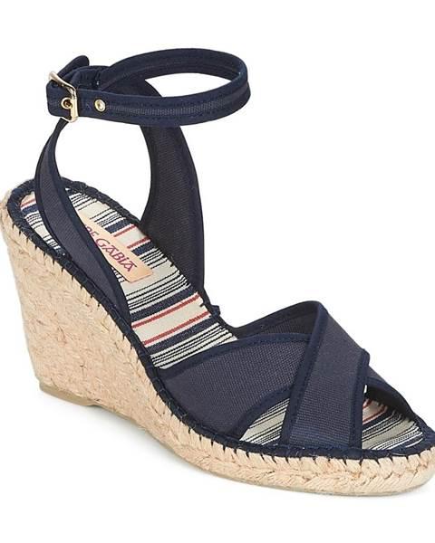 Modré sandále Pare Gabia