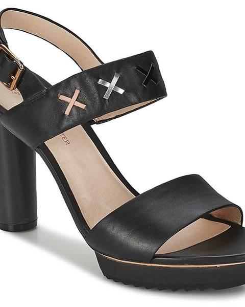Čierne sandále Paul   Joe Sister