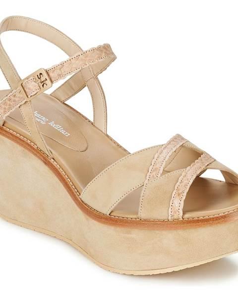 Béžové sandále Stéphane Kelian
