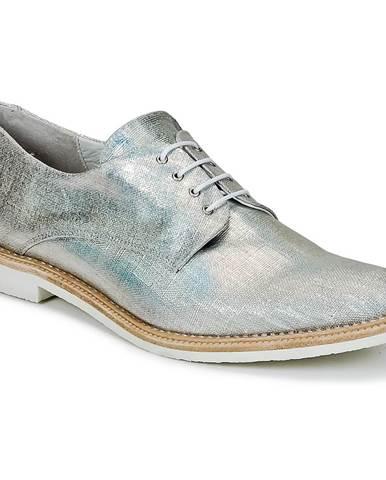 Strieborné topánky Miista