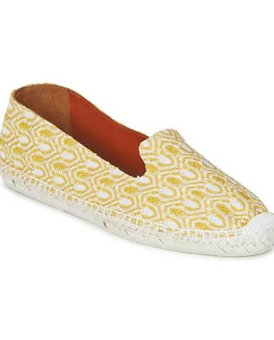 Žlté espadrilky Missoni
