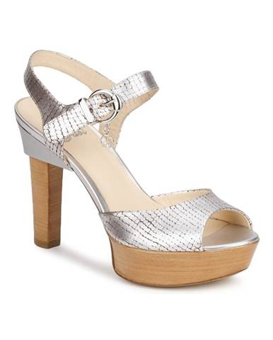 Strieborné sandále Fabi