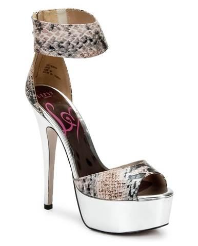 Viacfarebné sandále Lipsy