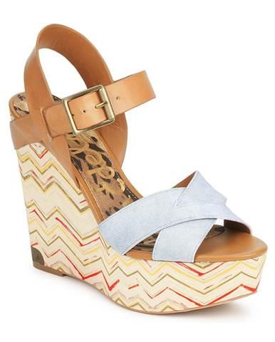Biele sandále Sam Edelman