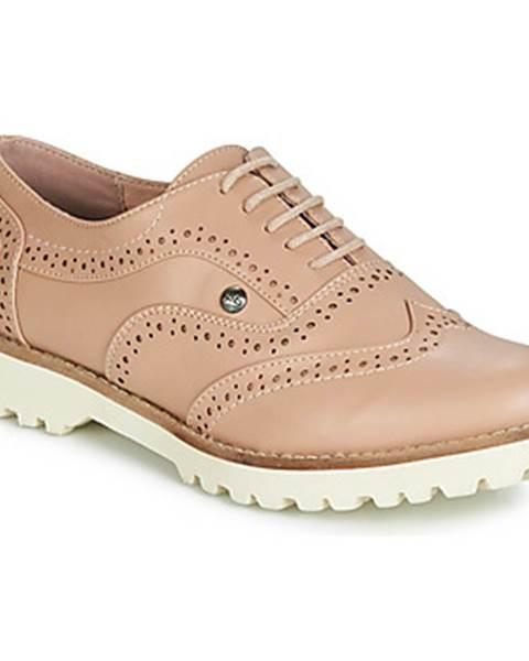 Béžové topánky LPB Shoes