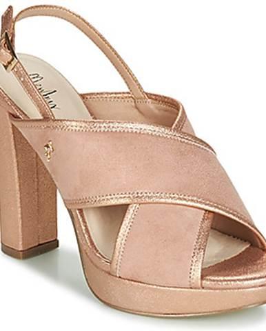Ružové sandále Menbur