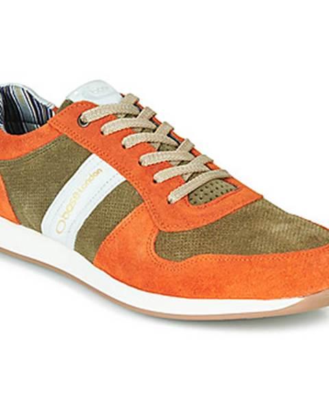 Oranžové tenisky Base London