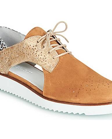 Hnedé topánky Regard