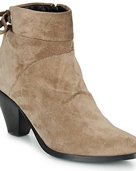 Béžové topánky Regard