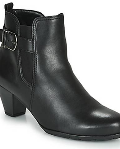 Čierne topánky Gabor