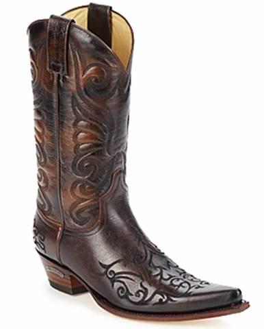 Hnedé čižmy Sendra boots