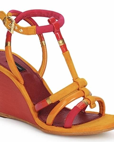 Žlté sandále Marc Jacobs