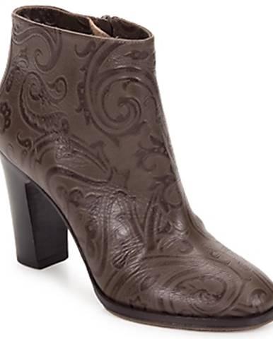 Hnedé topánky Etro