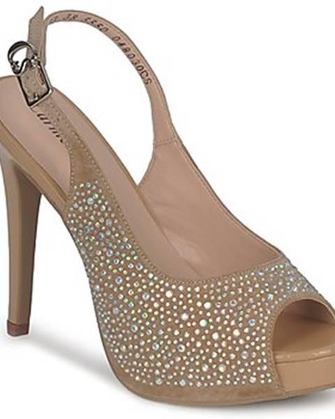 Hnedé sandále Carmen Steffens