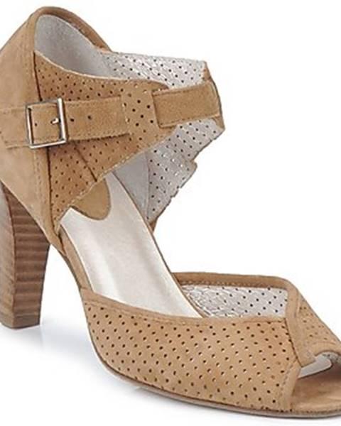 Hnedé sandále Mosquitos