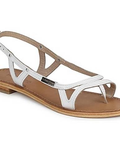 Biele sandále Les Tropéziennes par M Belarbi