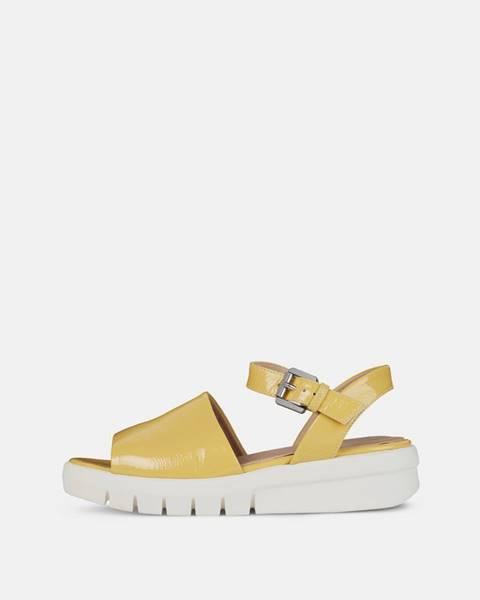 Žlté sandále Geox