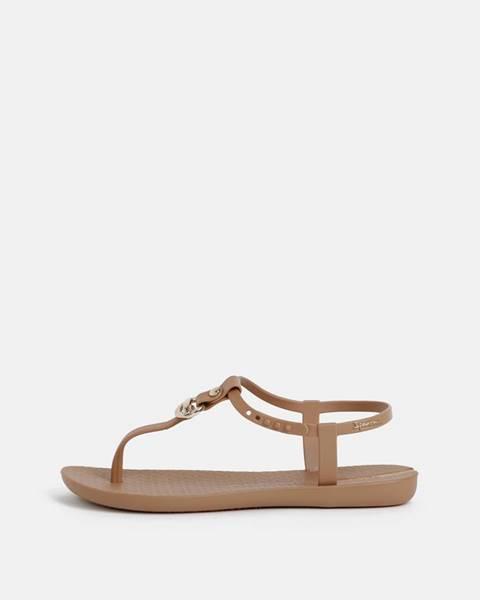 Hnedé sandále Ipanema