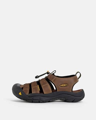 Tmavohnedé sandále Keen