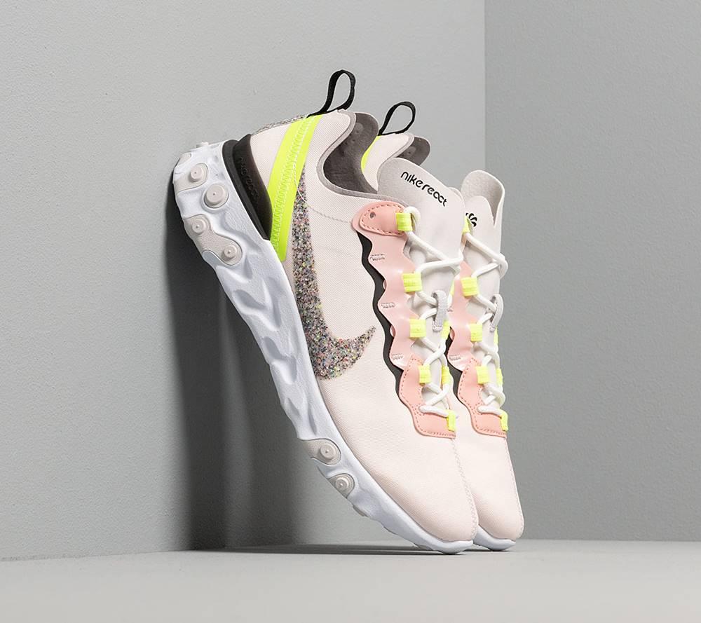 Nike Nike W React Element 55 Premium Light Soft Pink/ Atmosphere Grey