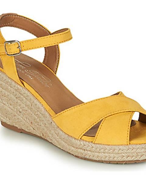 Žlté sandále Tom Tailor